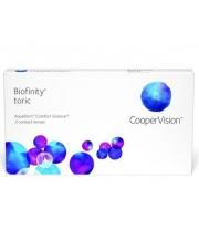 Biofinity Toric 3 szt. dla astygmatyków