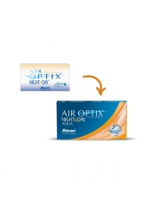 AIR OPTIX®  NIGHT&DAY® AQUA 6 szt.