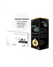ZESTAW TESTOWY: 2 szt. soczewek EyeLove Deluxe + płyn EyeLove Comfort PLUS 100 ml + pojemnik na soczewki